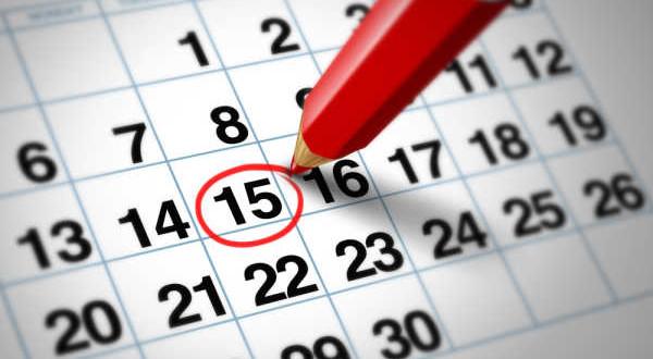 Calendario Parrocchiale – Agosto 2015