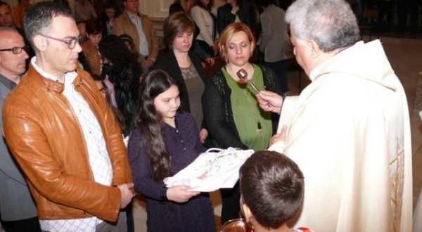 Benedizioni delle Vesti, Croci ecc. dei fanciulli di 1a Comunione