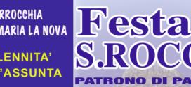 Festa S. Rocco e Assunzione della B. V. M.