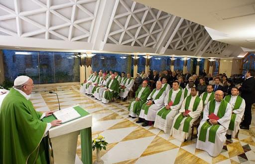"""Papa Francesco: """"La fede non s'impara sui libri, è dono da chiedere, èvittoria"""""""