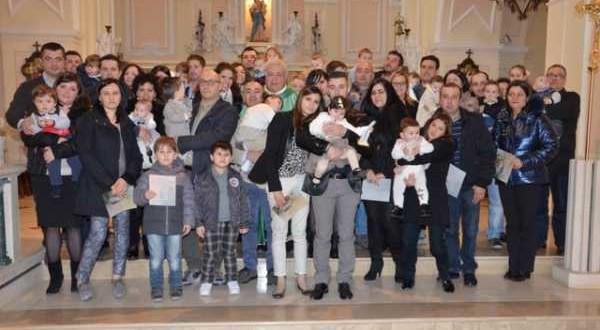 Ringraziamento per il Dono della Vita e del S.Battesimo 07-02-2016