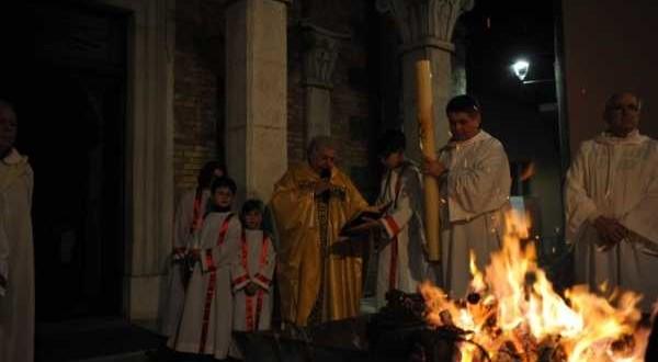 Veglia Pasquale e e S.Battesimo di Nicolas Bruno Bracone 27-03-2016