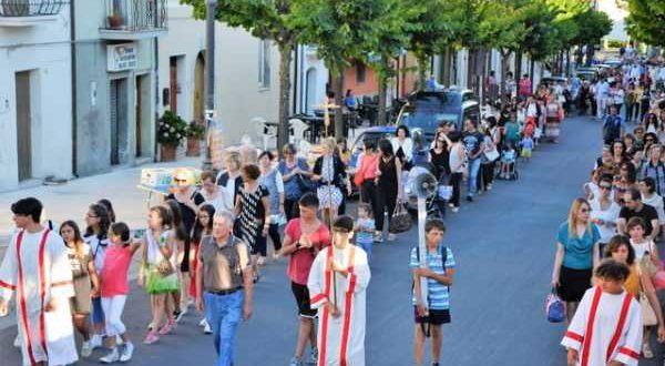 Festa della Beata Vergine del Carmelo 18-07-2016