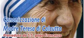 Canonizzazione di Madre Teresa – Roma, 4 settembre 2016