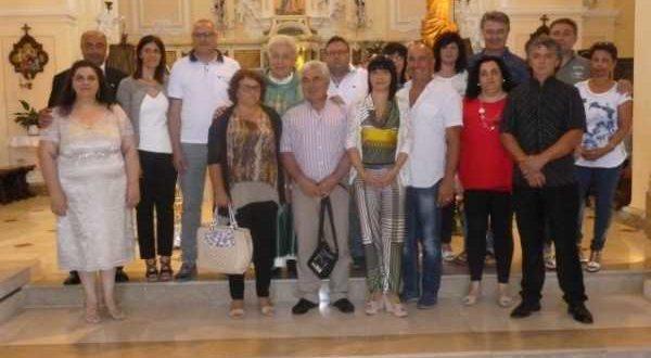 S. Messa Nati 1946 e Coppie 25° di Matrimonio 28-08-2016