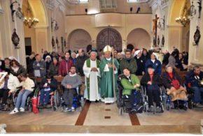 Celebrazione Giornata Mondiale del Malato presieduta dal Vescovo a Palata 11-02-2018