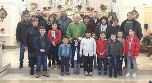 Presentazione Fanciulli 1a Confessione 14-01-2018