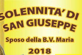 Solennità di San Giuseppe – 2018