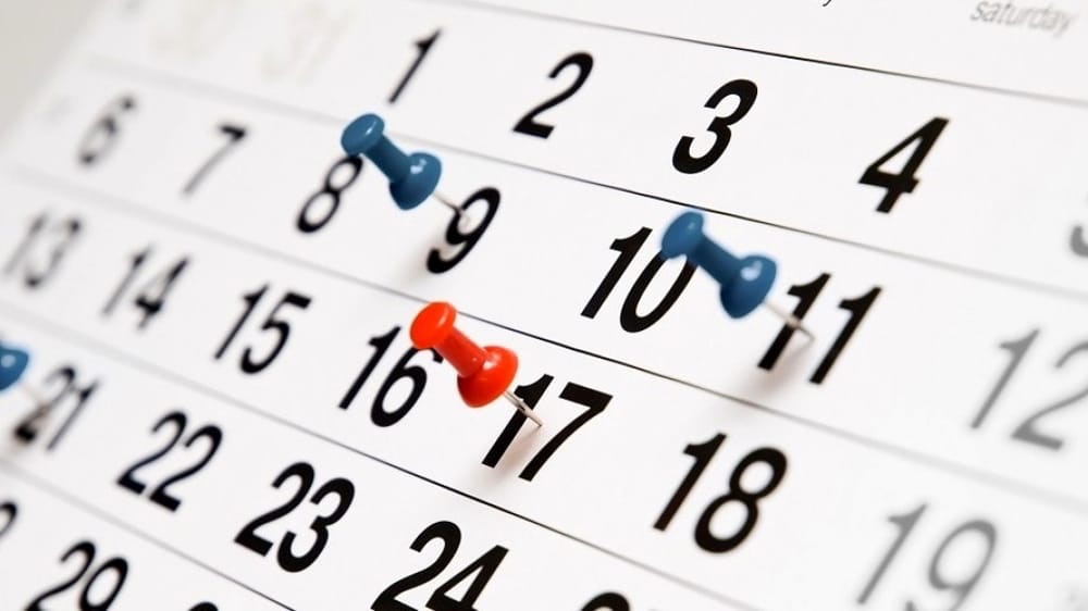 Pagina Di Calendario Settembre 2019.Calendario Parrocchiale Settembre 2019 Parrocchia S